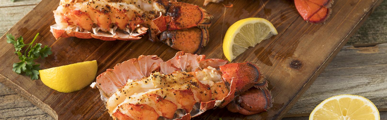 seatrek lobster cooked